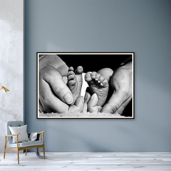Baby Feet by Roger Bamber