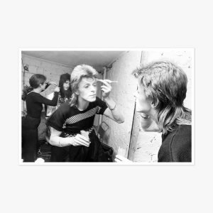 David Bowie Backstage by Roger Bamber