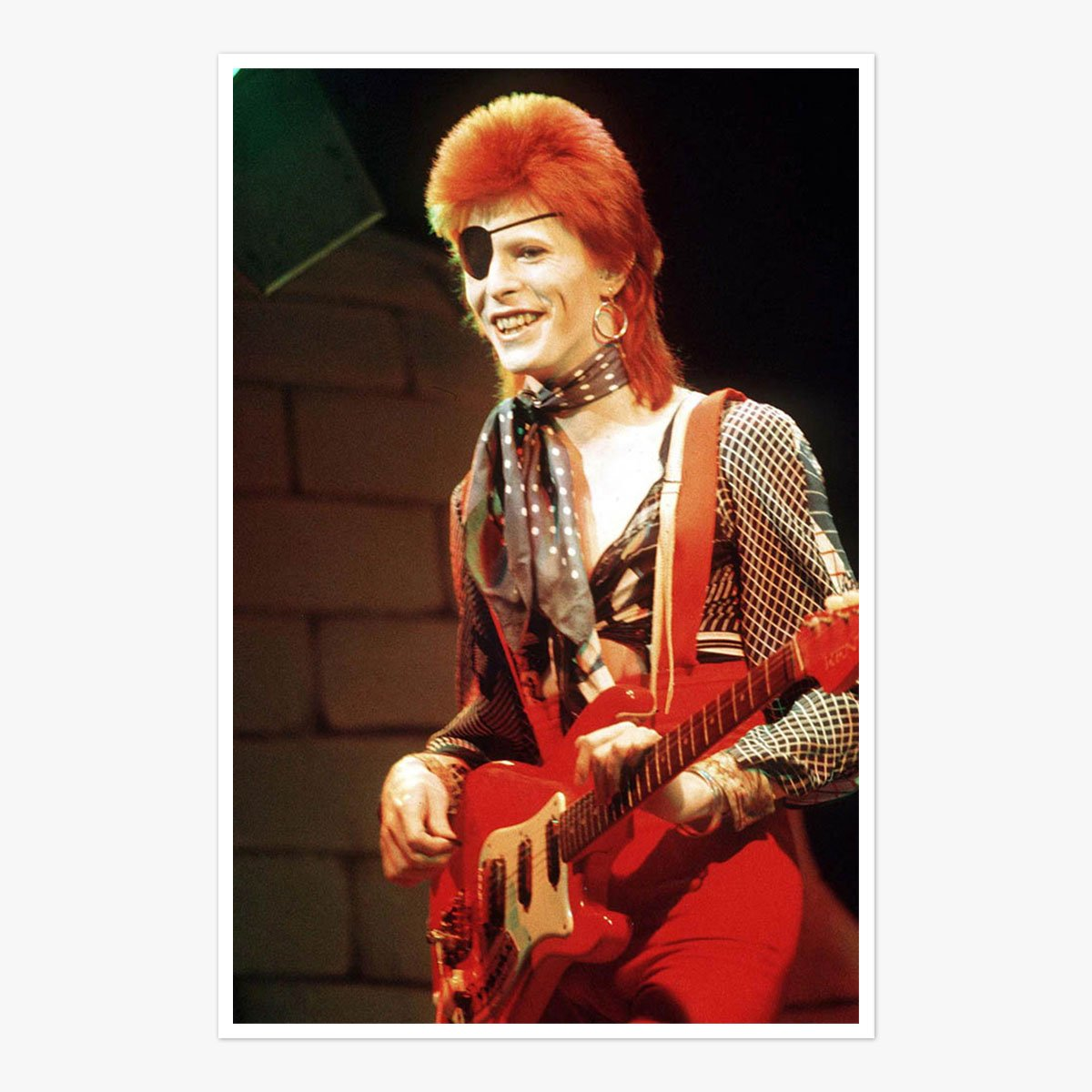 Ziggy On Stage 1973 by Roger Bamber