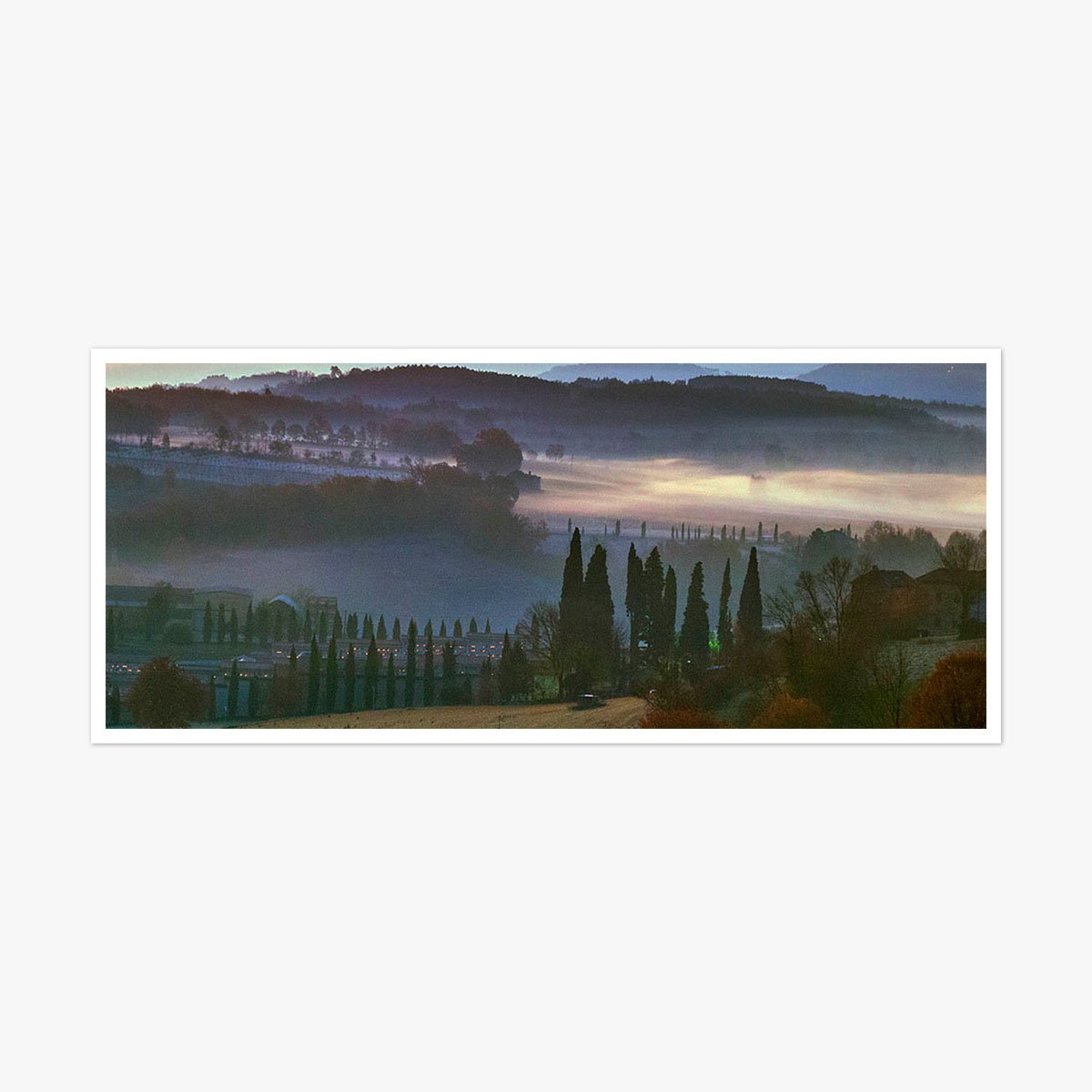 Anghiari Morning by Roger Taylor