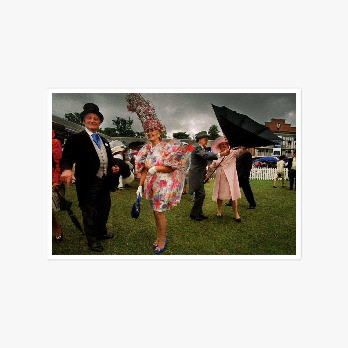 A Storm at Ladies Day by Tom Pilston