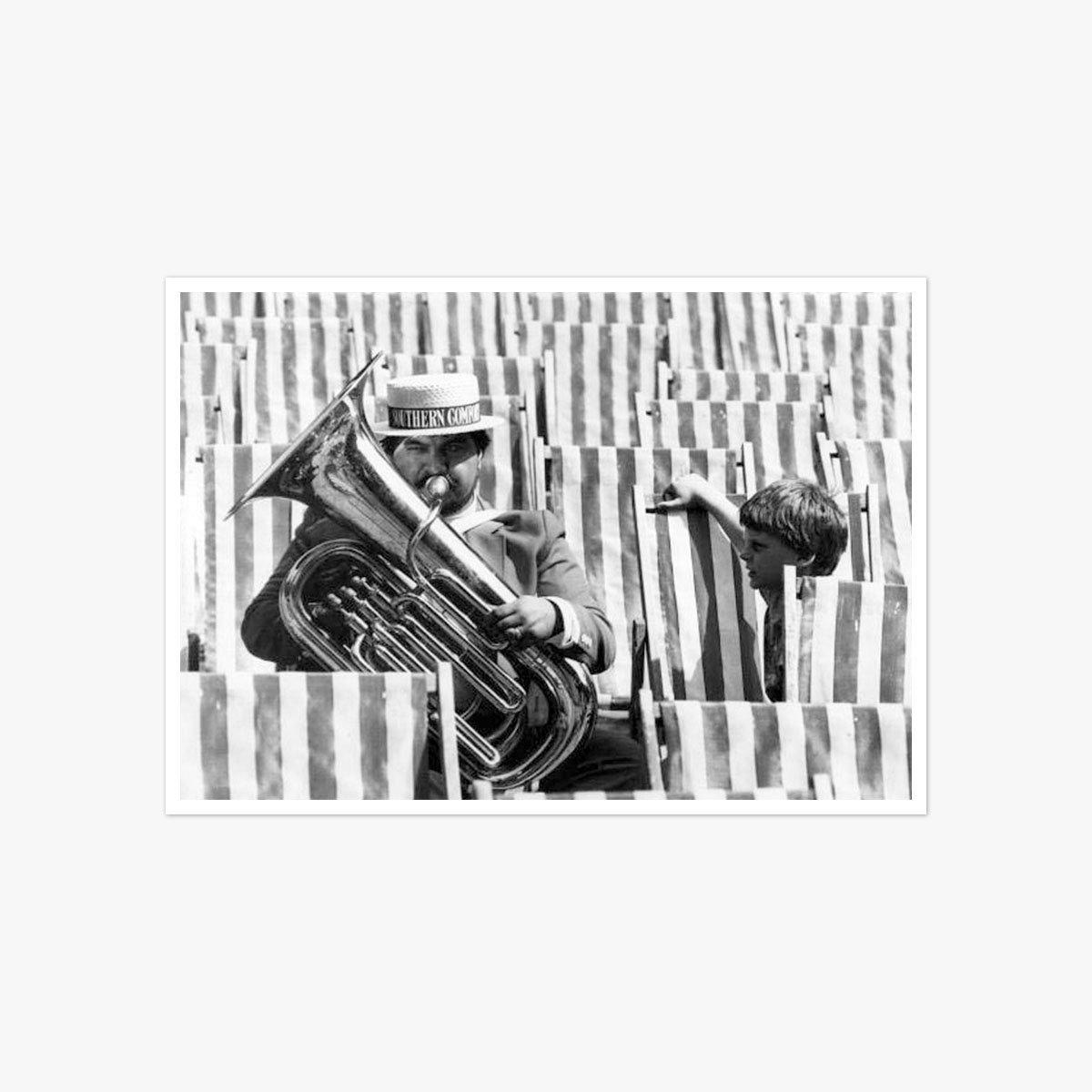 Dixieland Jazz at Brighton by Ian Tyas