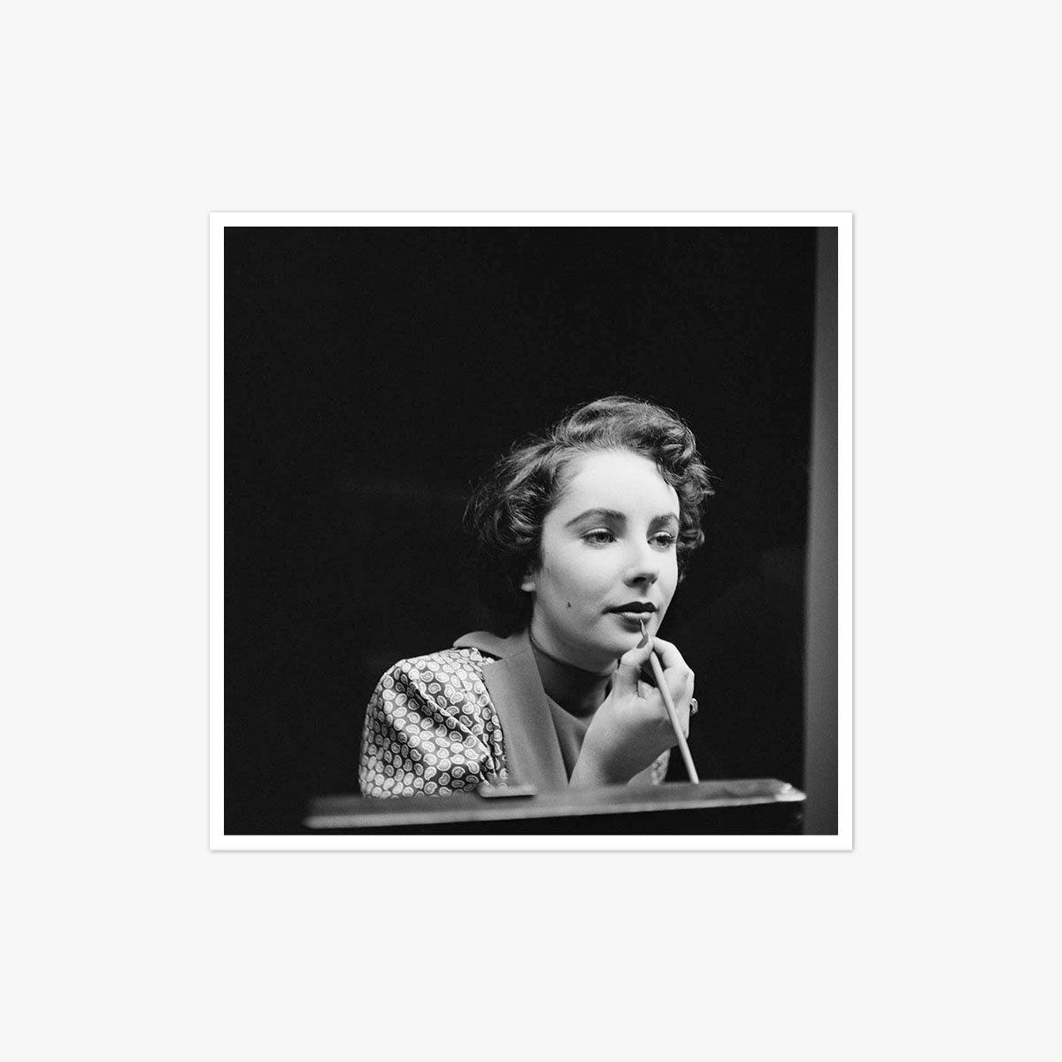 Elizabeth Taylor by Chris Ware