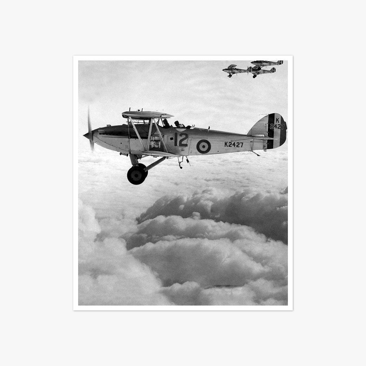 Hawker Hart bomber aircraft by Frank Rust