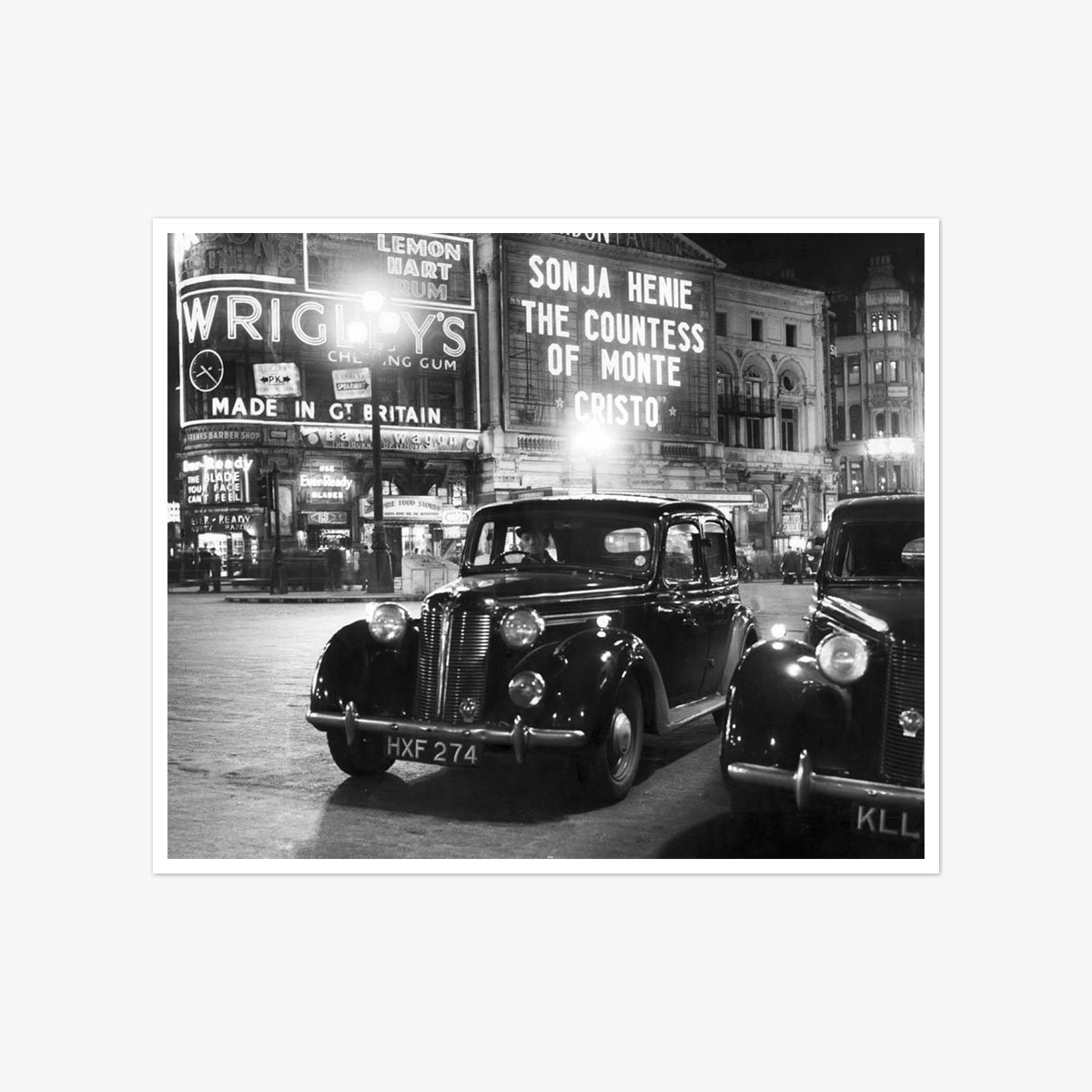 Piccadilly Circus 1949 by Herbert Mason
