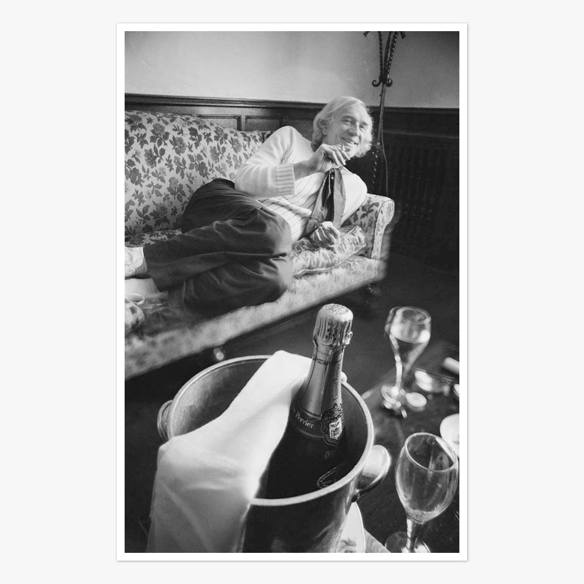 Richard Harris by John Downing