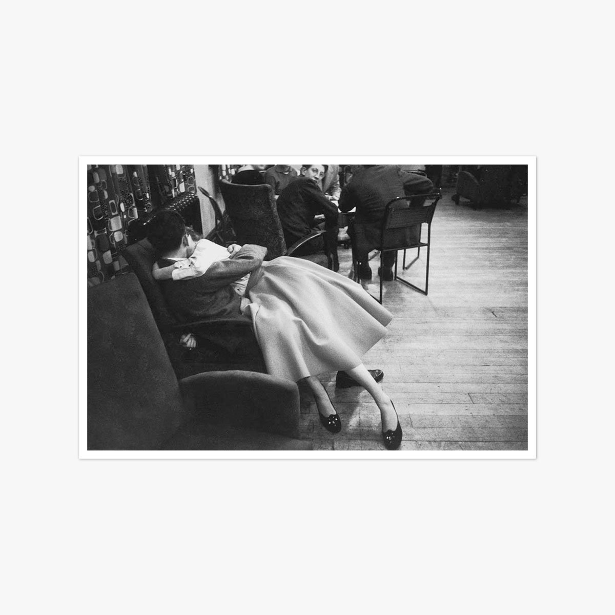 Sharing A Chair by Thurston Hopkins