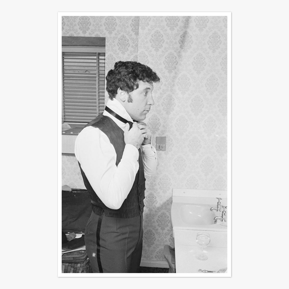 Singer Tom Jones by Ian Tyas