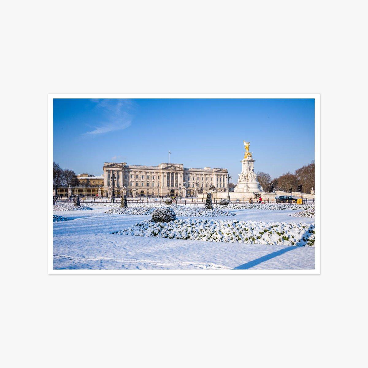 Snow At Buckingham Palace by Alex Lentati